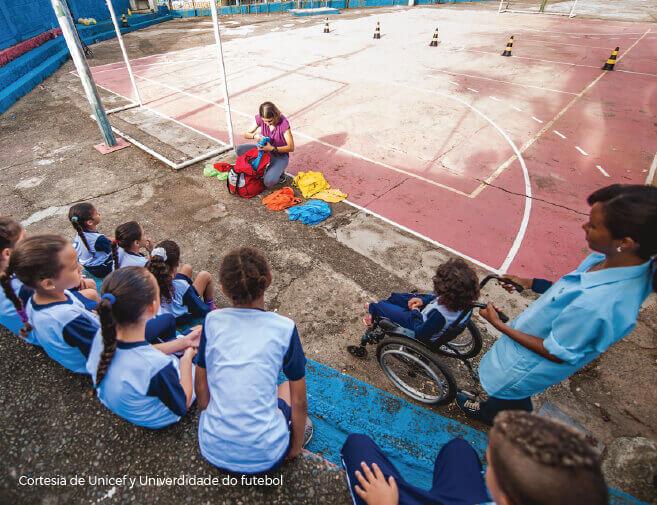 """Unicef desarrolló el programa """"Jogue Limpo, Jogue Bem"""", con el ánimo de apoyar los clubs deportivos"""