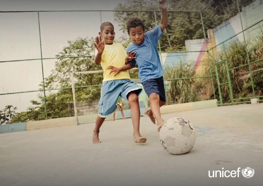 UNICEF - JOGUE LIMPO JOGUE BEM